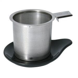 Hook Handle Tea Infuser & Dish Set