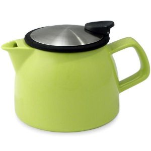 Bell Teapot With Basket Infuser 16 Oz.
